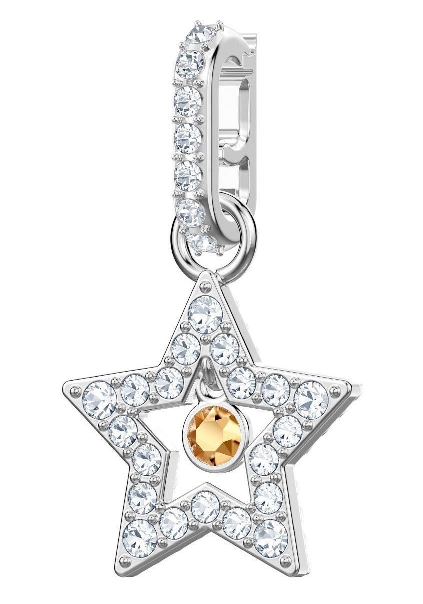 Swarovski Charm-Einhänger »Swarovski Remix Collection Charm Star, 5443939« mit Swarovski® Kristallen