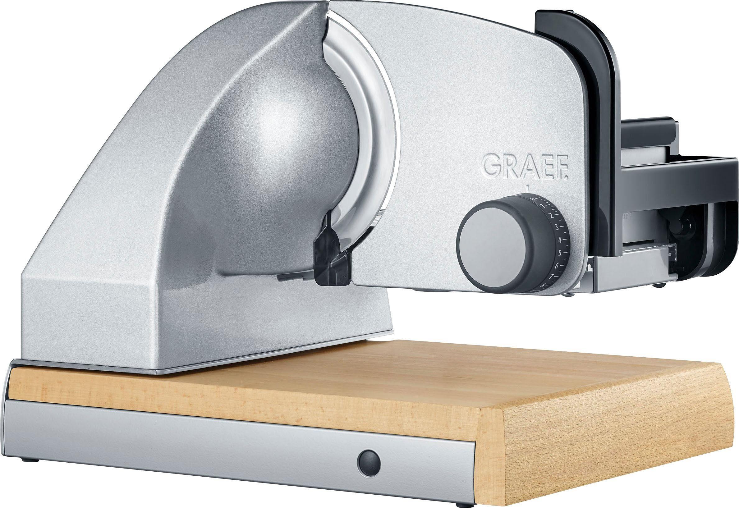 Graef Allesschneider Sliced Kitchen SKS 850, silber, 170 W