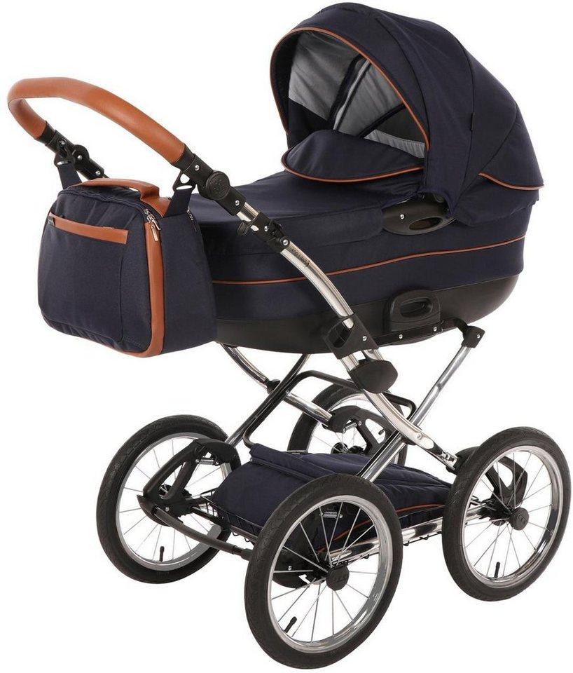 Knorr-baby Kombi-Kinderwagen Set,  Precioso, marine blau  online kaufen