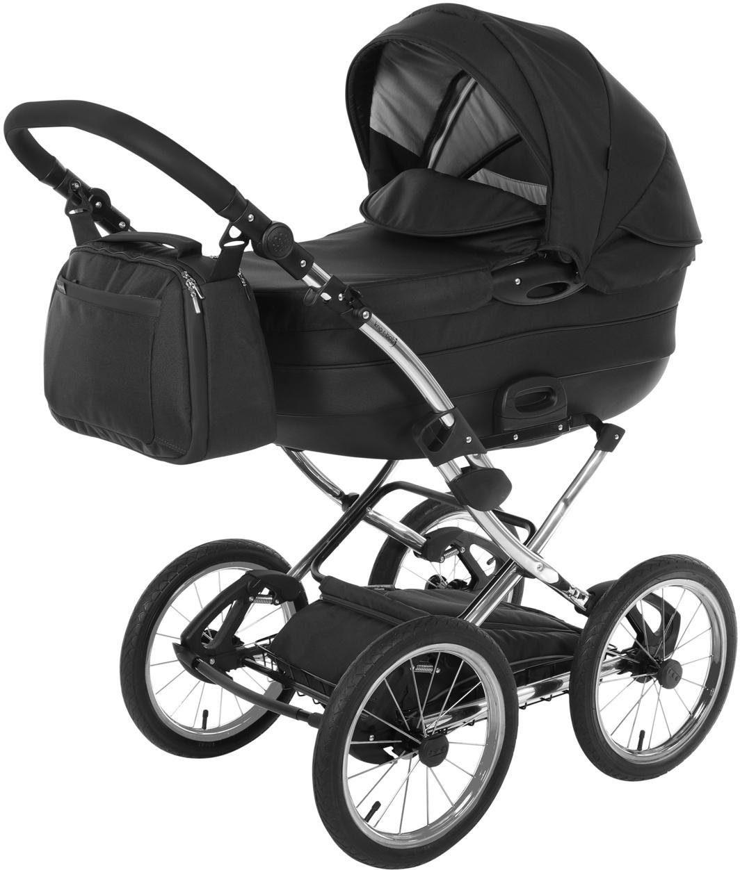 knorr-baby Kombi-Kinderwagen, »Precioso, schwarz«