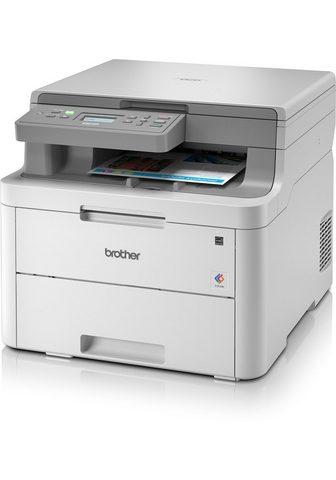 BROTHER Spalvotas lazerinis spausdintuvas »DCP...