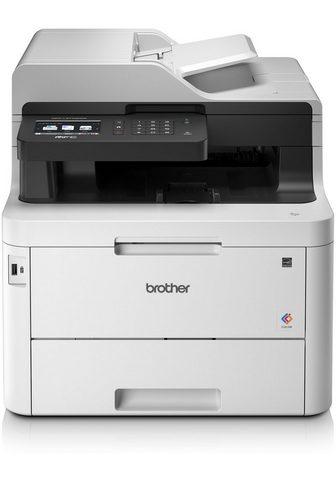 BROTHER Spalvotas lazerinis spausdintuvas »MFC...