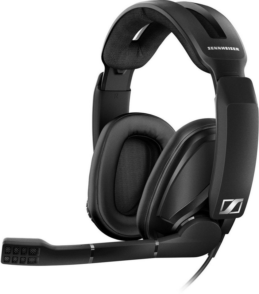 sennheiser headset over ear gaming headset gsp 302. Black Bedroom Furniture Sets. Home Design Ideas