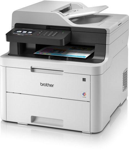 Brother Farblaser-Drucker »MFC-L3730CDN 4in1 Multifunktionsdrucker«