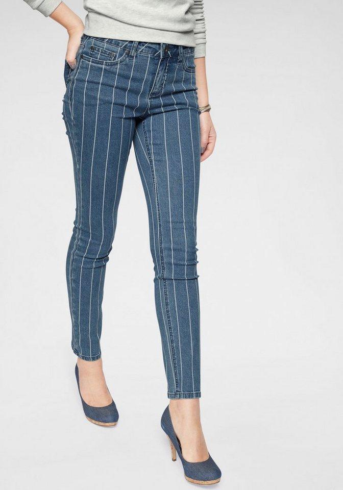 0d5bc8f4a48e4 Arizona Slim-fit-Jeans »im Streifen-Design« mit modischen Längsstreifen  online kaufen | OTTO