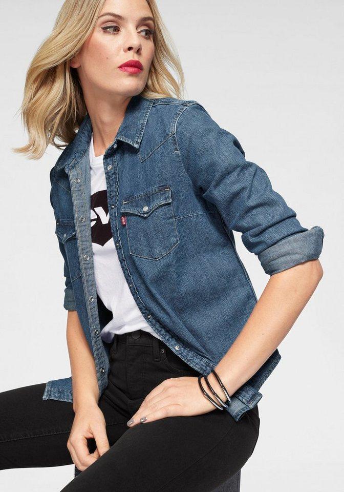levi´s® -  Jeansbluse »Ultimate Western Shirt« Klassischer Schnitt mit gerundetem Saum
