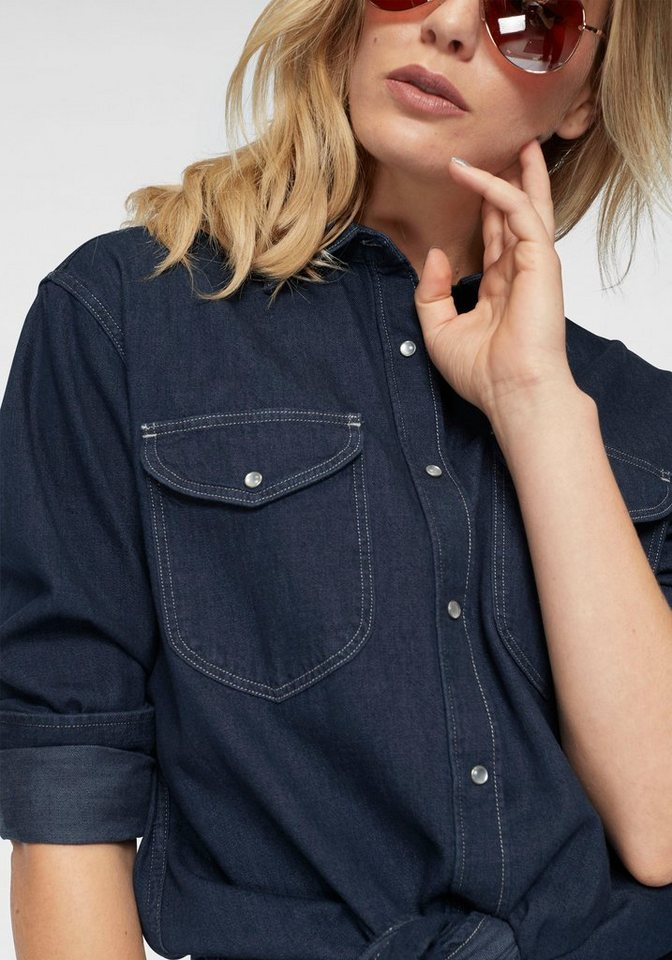 Lee® Jeansbluse im coolen Oversized-Style