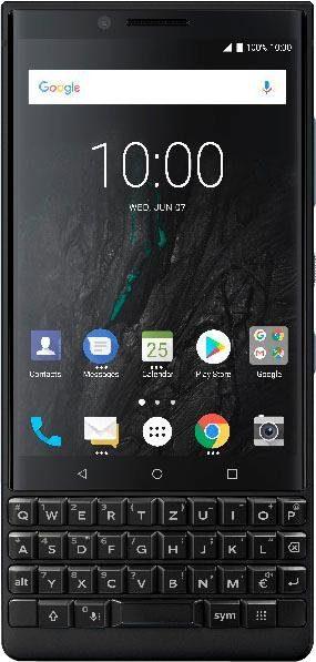 Blackberry KEY2 - Dual SIM Smartphone (11,25 cm/4,5 Zoll, 128 GB Speicherplatz)