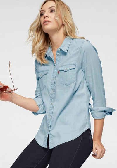 f7e8cffc4565ee Levi s® Jeansbluse »Ultimate Western Shirt« Klassischer Schnitt mit  gerundetem Saum