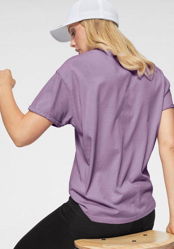 Lee® T-Shirt mit kleinem Logo-Print