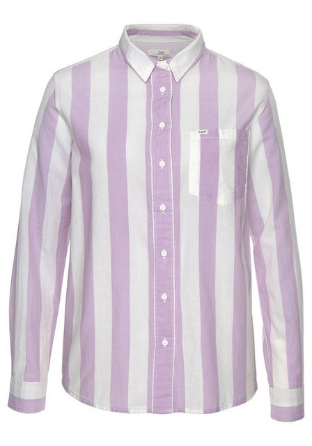 Lee® Hemdbluse im Colorblocking-Trend