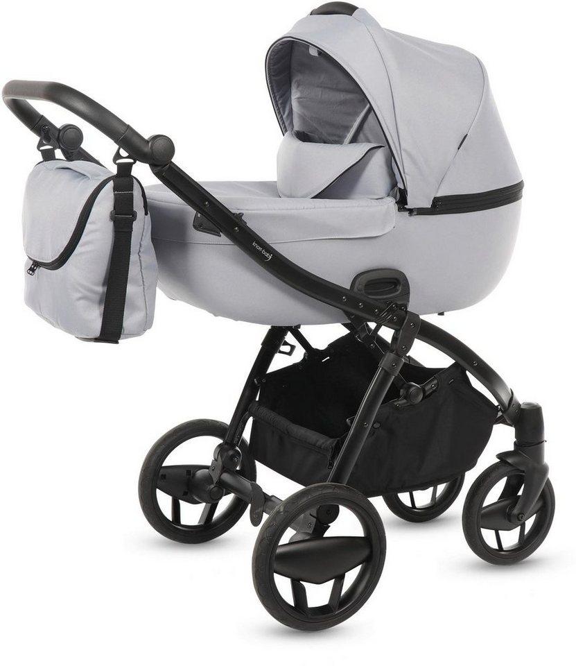 Knorr-baby Kombi-Kinderwagen Set,  Piquetto, hellgrau  online kaufen