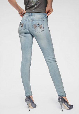 ARIZONA Узкие джинсы »mit блестящие каме...