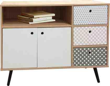 SIT Sideboard »Mailbox« Dekoroberflächen im Scandi Look