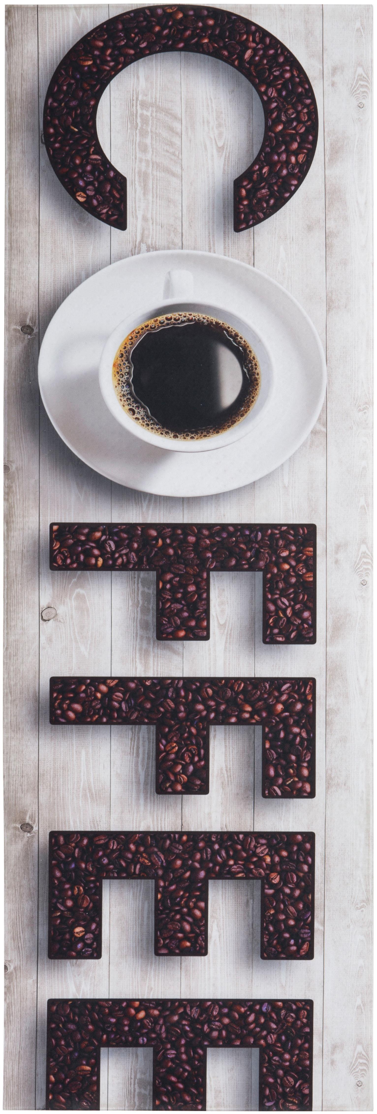 Küchenläufer »Coffee«, Andiamo, rechteckig, Höhe 3 mm, Vinyl