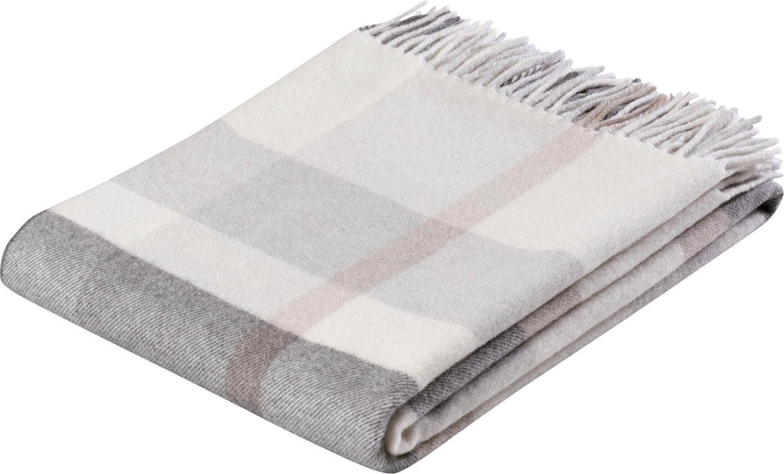 Plaid »Check Wool«, BIEDERLACK, mit Karomuster