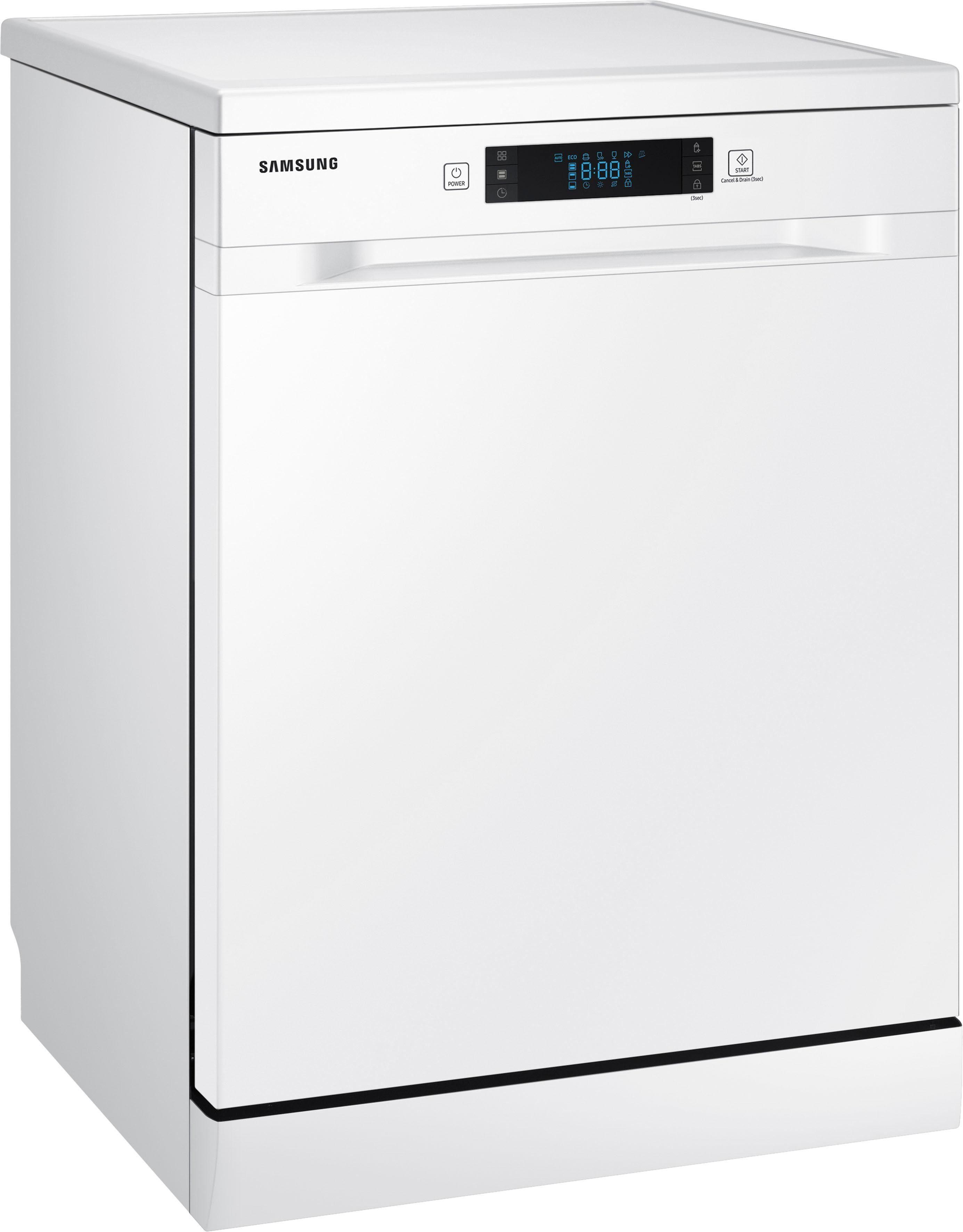 Samsung Standgeschirrspüler DW5500, DW60M6050FW/EC, 10,5 l, 14 Maßgedecke