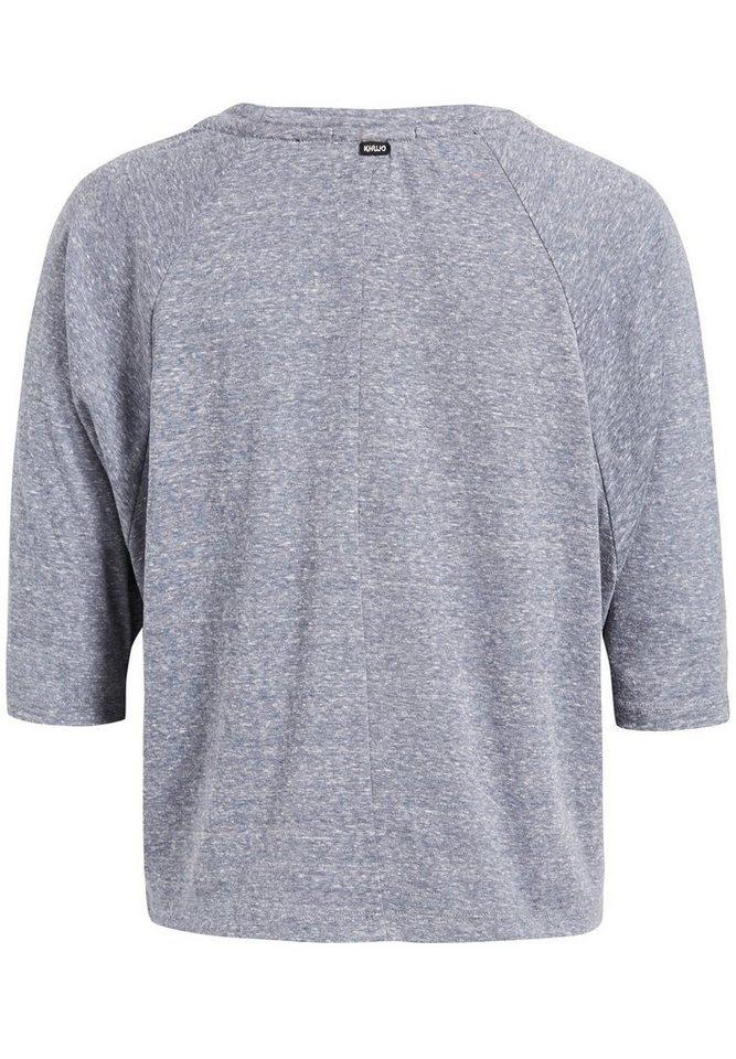 khujo Oversize-Shirt »SASSA« mit Feldermausärmeln
