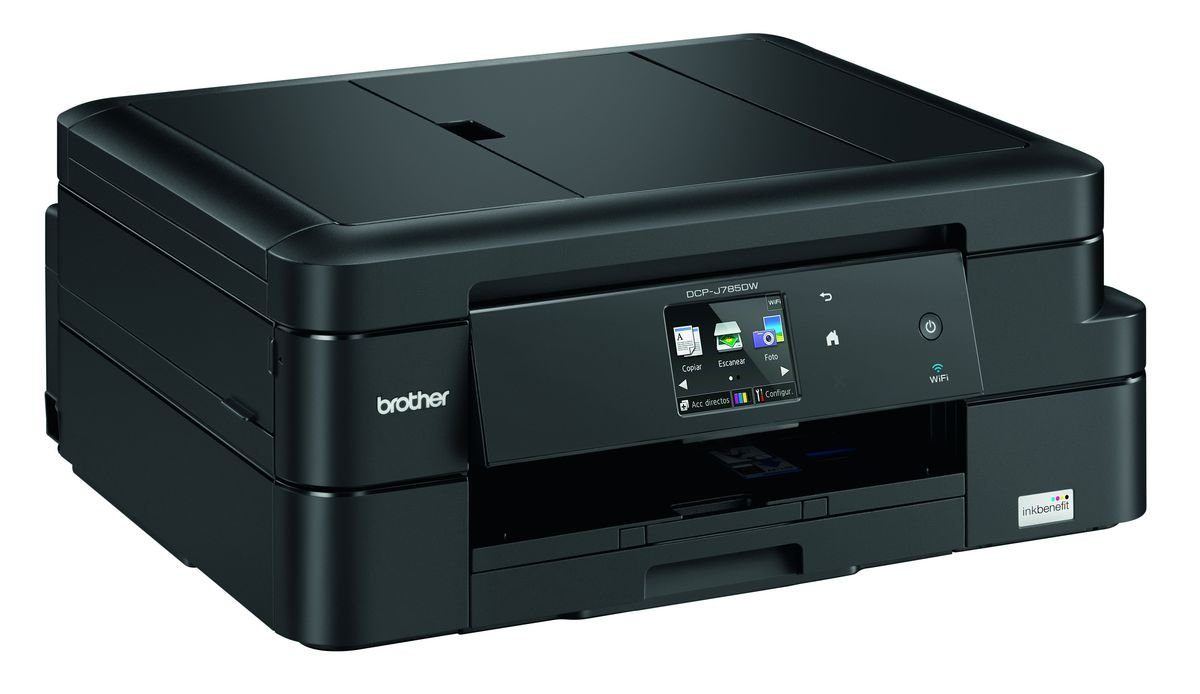 Brother Tintenstrahl-Multifunktionsdrucker »DCP-J785DW 3in1 Multifunktionsdrucker«