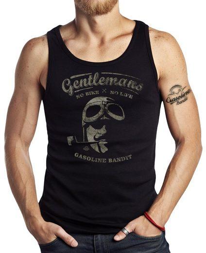 GASOLINE BANDIT® Tank-Top mit Biker-Print