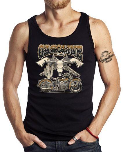 GASOLINE BANDIT® Tank-Top im Vintage-Look