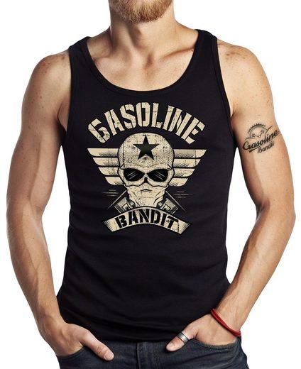 GASOLINE BANDIT® Tank-Top mit coolem Front-Print