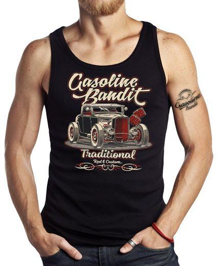 GASOLINE BANDIT® Tank-Top mit coolem Druck