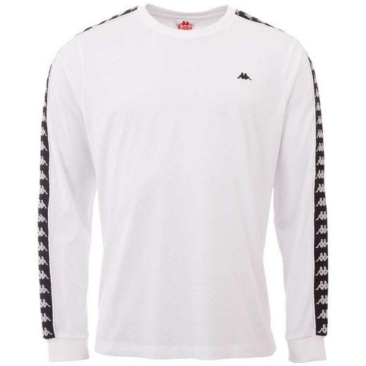 Kappa T-Shirt »HAIMO« mit hochwertigem Logoband an den Ärmeln