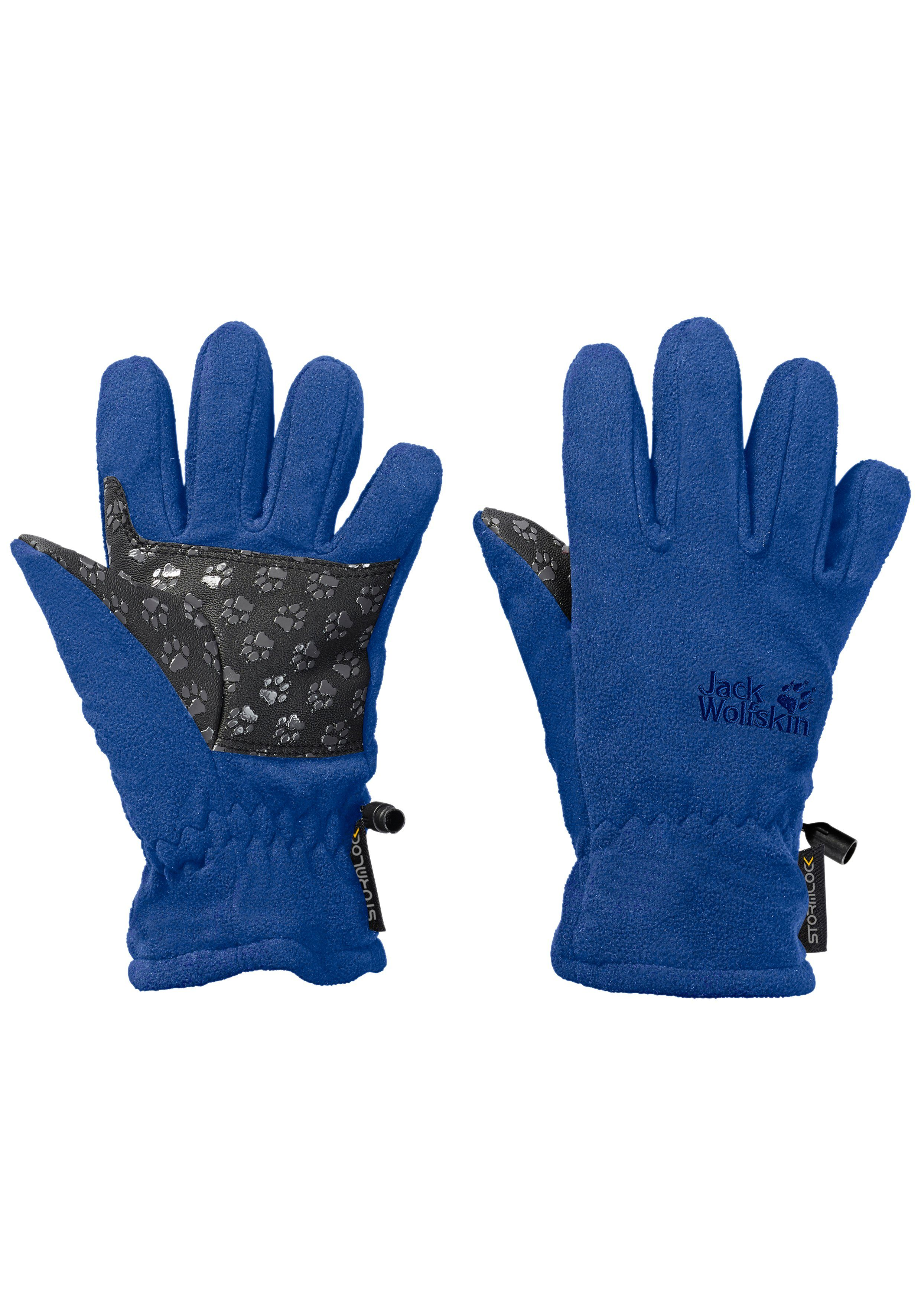 Scotch /& Soda Herren Double-Layered Leather and Knitted Gloves Handschuhe