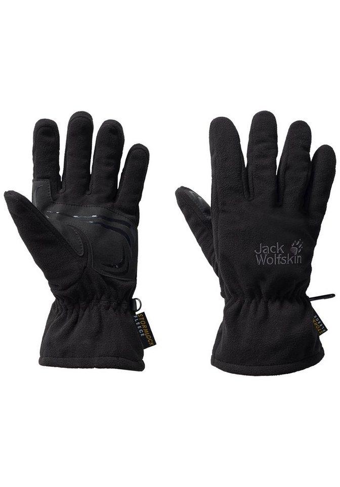 Jack Wolfskin Fleecehandschuhe »STORMLOCK BLIZZARD GLOVE« | Accessoires > Handschuhe > Fleecehandschuhe | Schwarz | Fleece | Jack Wolfskin