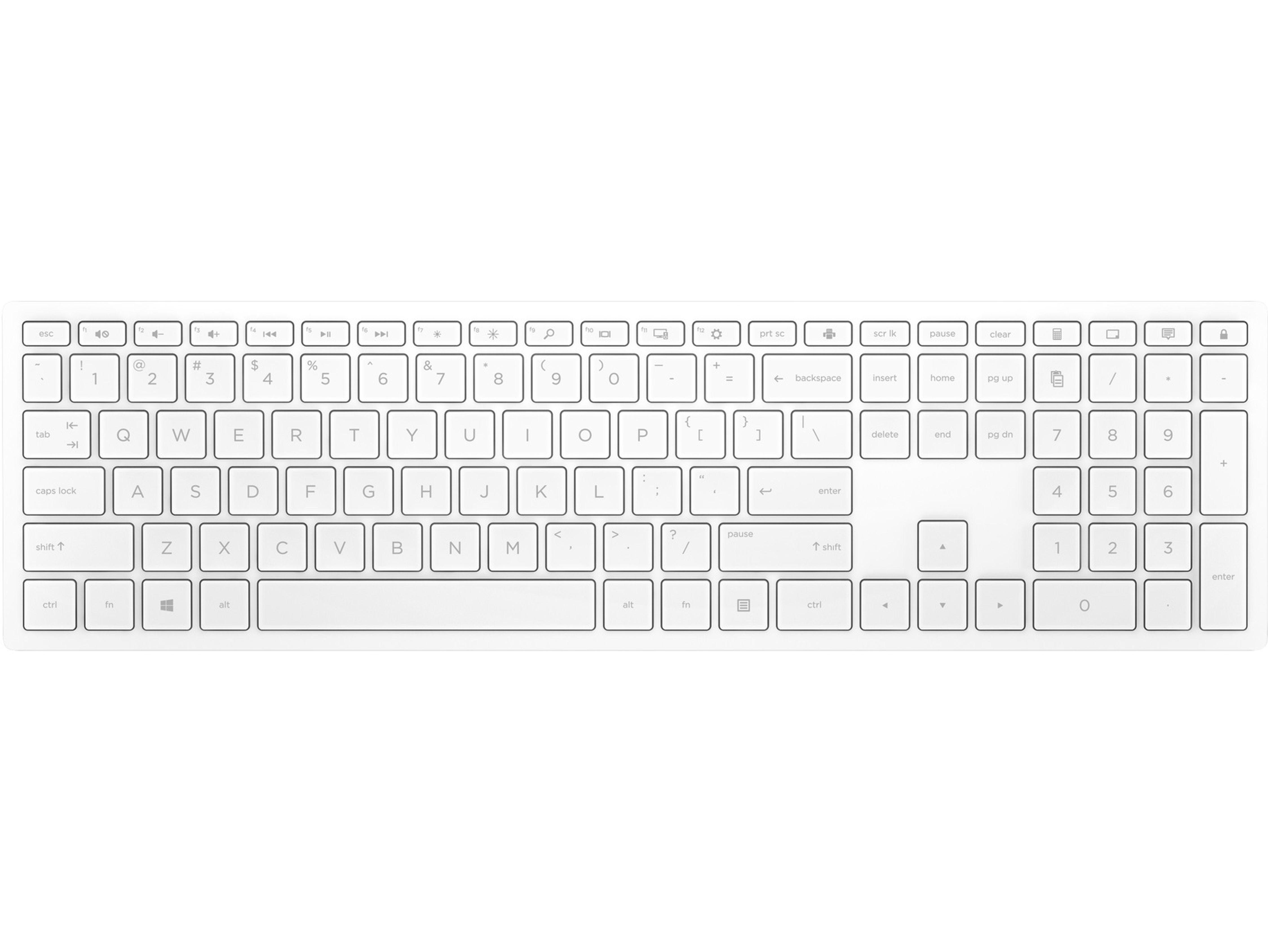 HP Pavilion Wireless-Tastatur 600 »Schönes Design. Jetzt kabellos«