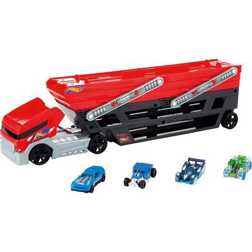 Mattel® Hot Wheels Mega Truck inkl. 4 Die-Cast Fahrzeuge