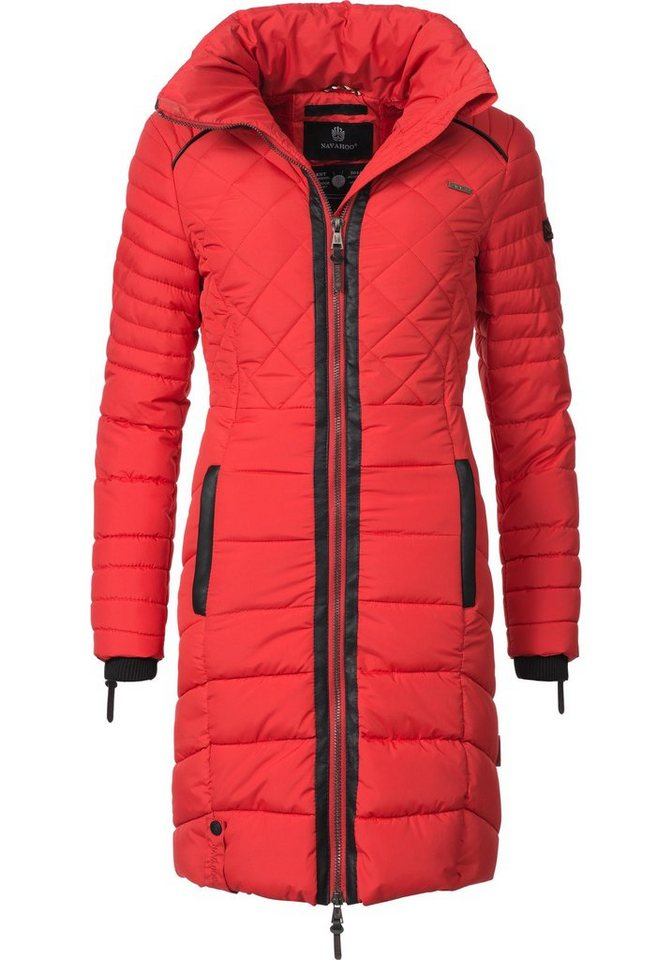 489cb2c37c1b5d Navahoo Steppmantel »Ronin« hochwertiger Winter Mantel mit ...