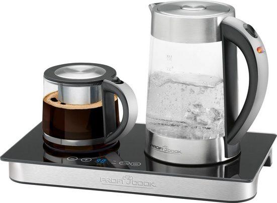 ProfiCook Wasserkocher Teebereiter, Kaffeebereiter PC-TKS 1056, 1,7 l, 2200 W