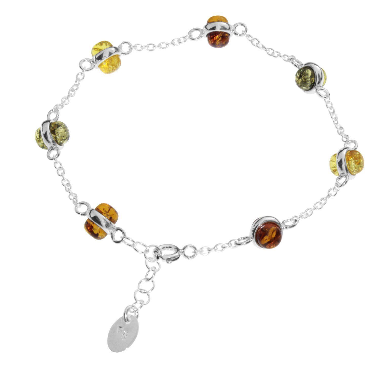 OSTSEE-SCHMUCK Armband »Adelina Silber 925/000 Bernstein«