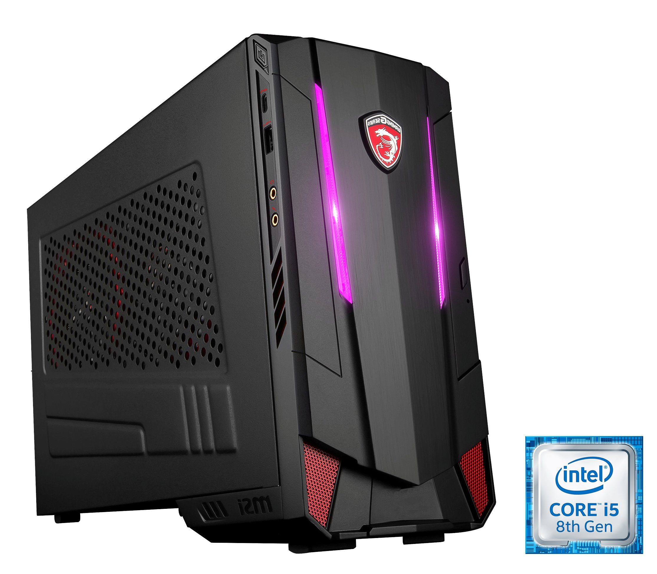 MSI Gaming PC Intel® i5-8400 8GB SSD + HDD GeForce® GTX 1060 »Nightblade MI3 8RC-061DE«