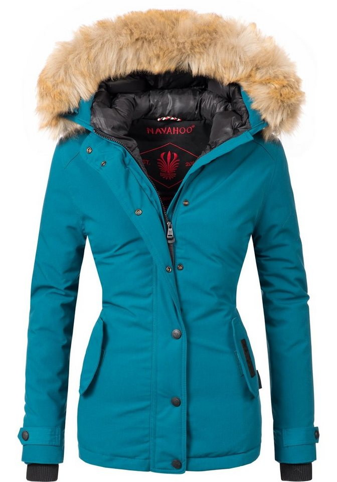 timeless design 5ed74 471bd Navahoo Winterjacke »Laura« edler Parka mit Kunstpelz-Kapuze online kaufen    OTTO