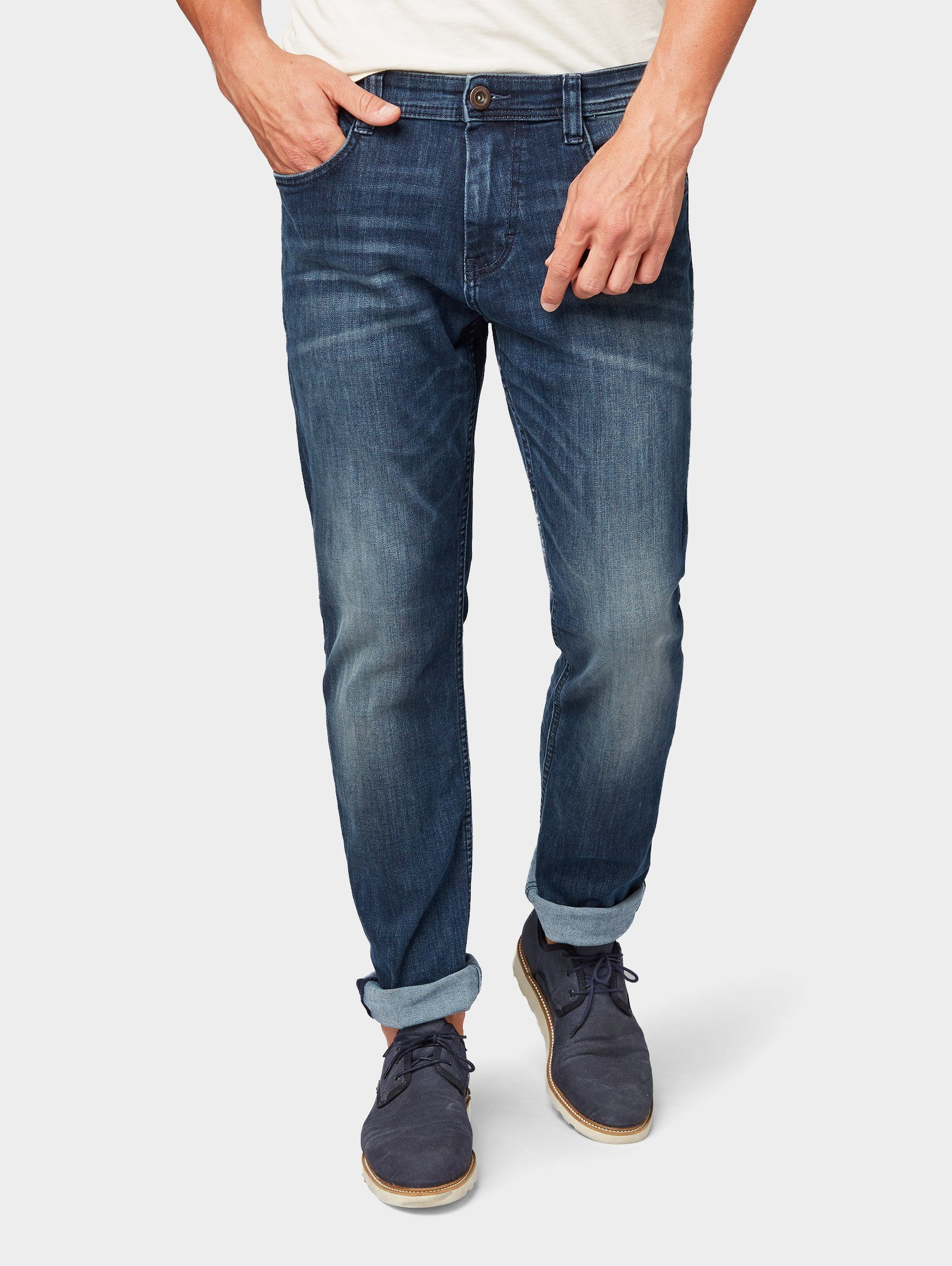 TOM TAILOR 5-Pocket-Jeans »Marvin Straight Jeans«