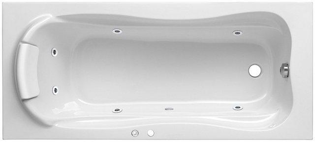 Badewannen und Whirlpools - OTTOFOND Whirlpool Badewanne »Jamaica«, (Komplett Set), Typ 1, chrom  - Onlineshop OTTO