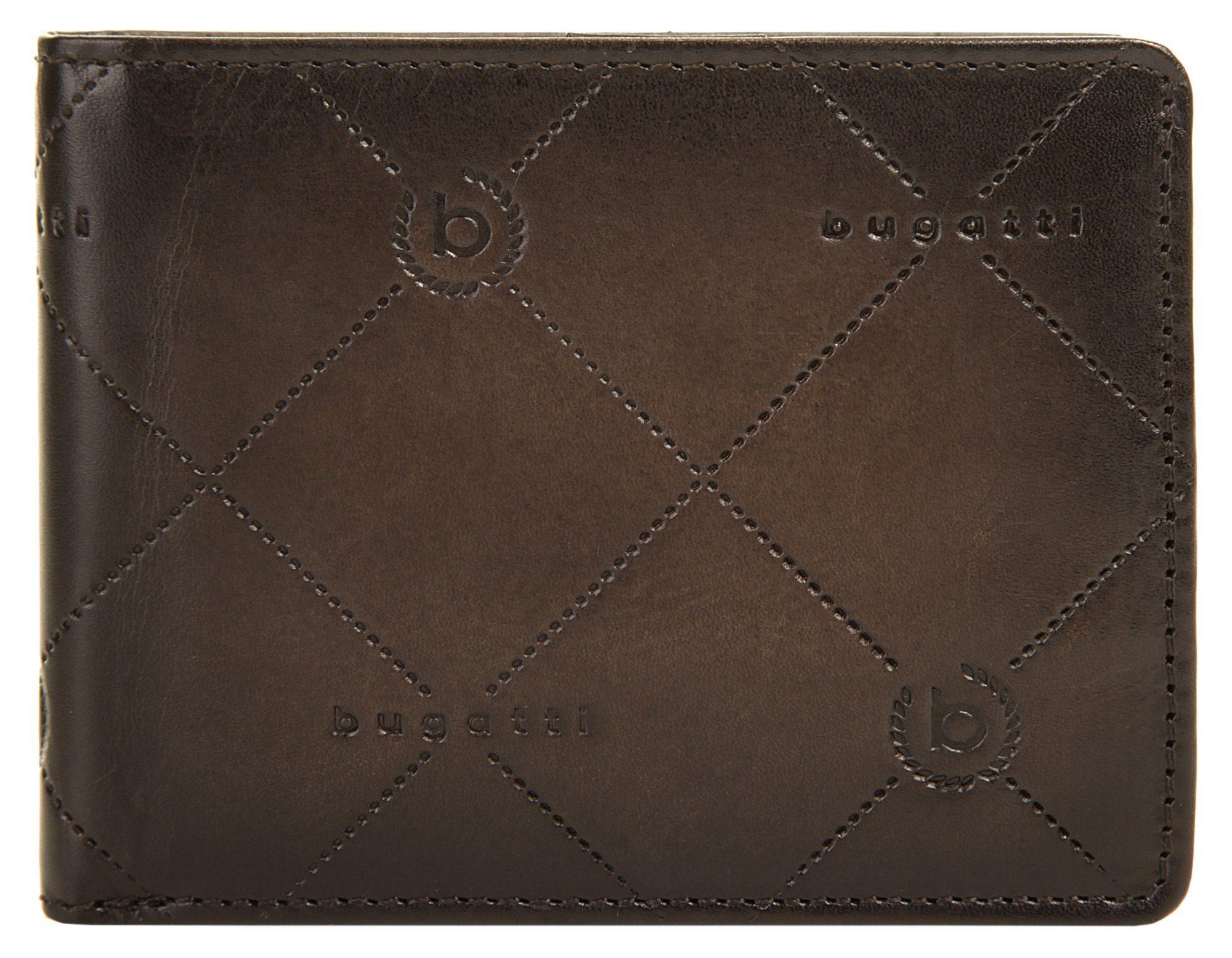 Bugatti Geldbörse »DOMUS NOBILE RFID«, Kreditkartenfächer