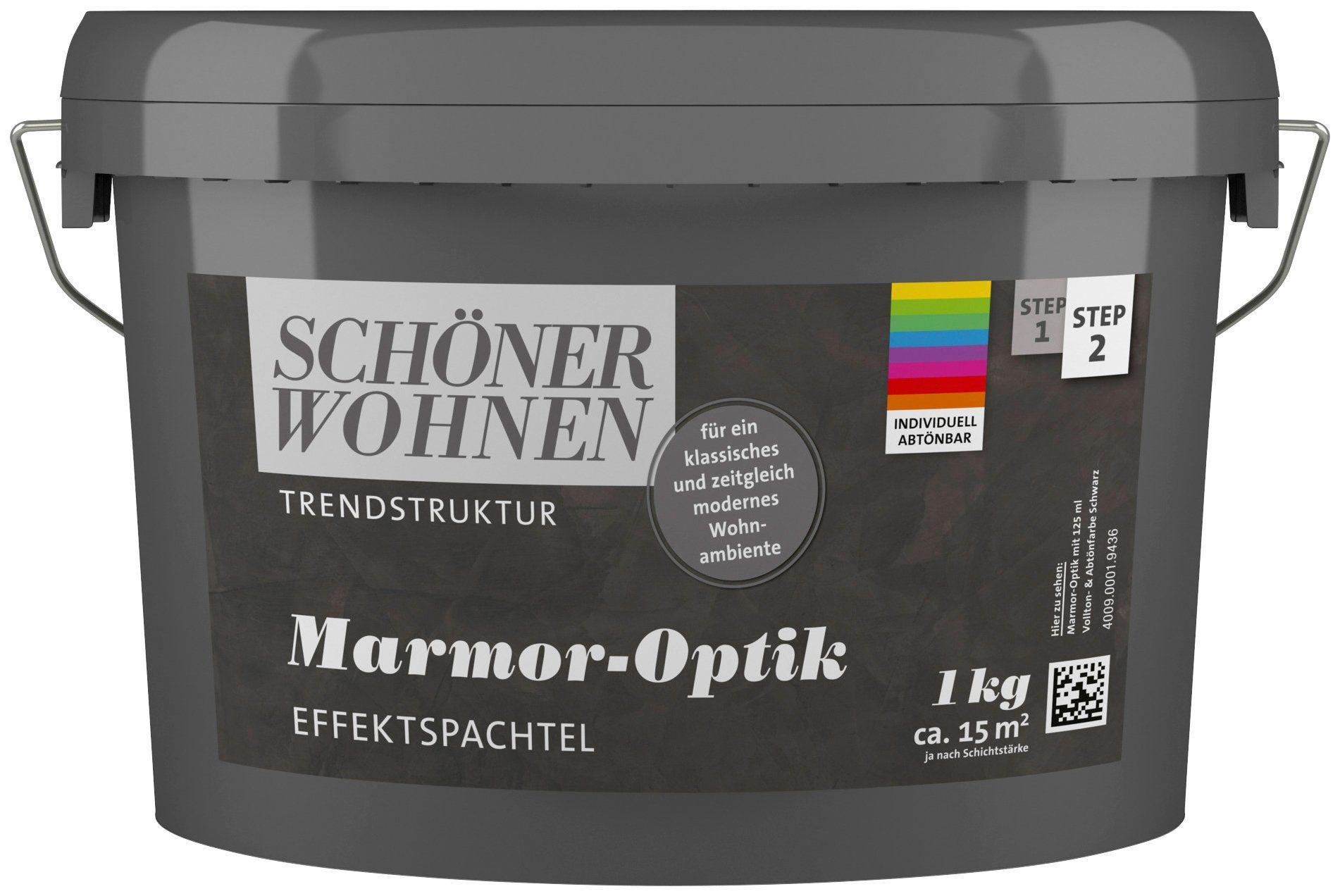 Schöner Wohnen Farbe Effektspachtel »Marmoroptik 1,0Kg Basis abtönbar«