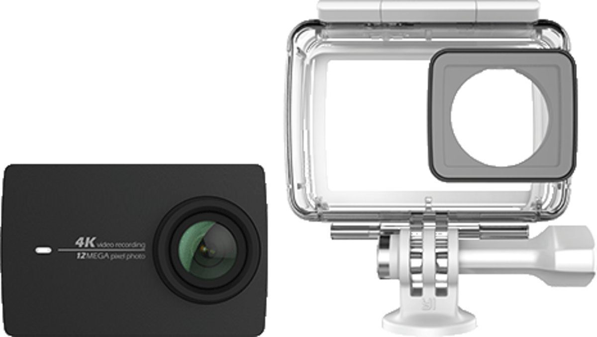 YI Actioncam »4k Action Camera + Waterproof Case«
