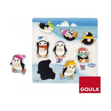 Goula Holzpuzzle Pinguine