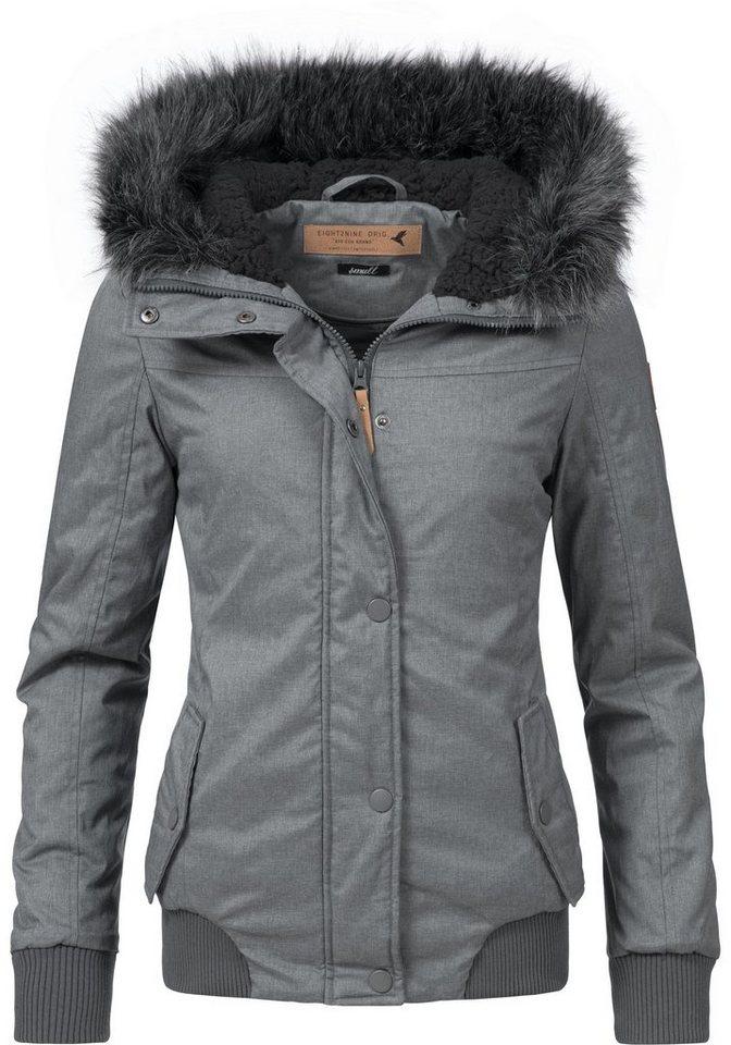 9ccd8af4eb60 Eight2Nine Winterjacke »44278AEN« stylische Damen Outdoorjacke mit ...