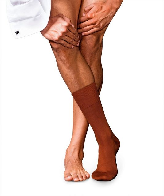 falke -  Socken No. 6 Finest Merino & Silk, mit australischer Merinowolle & Seide