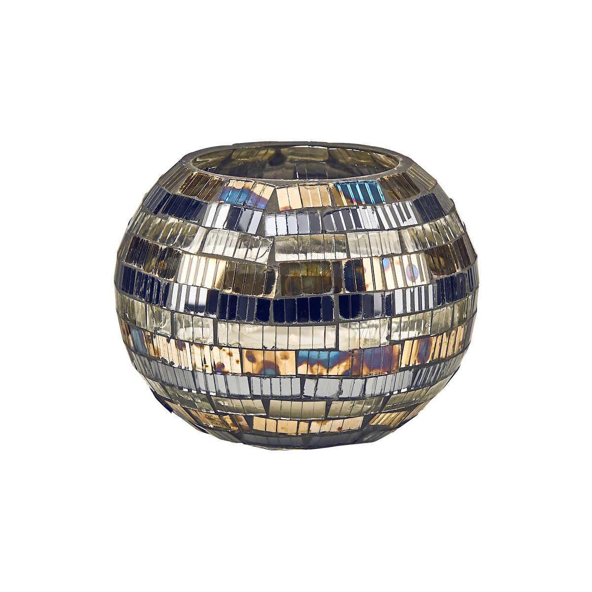 BUTLERS PALACIO »Mosaik Windlicht Streifen 8,5 cm«