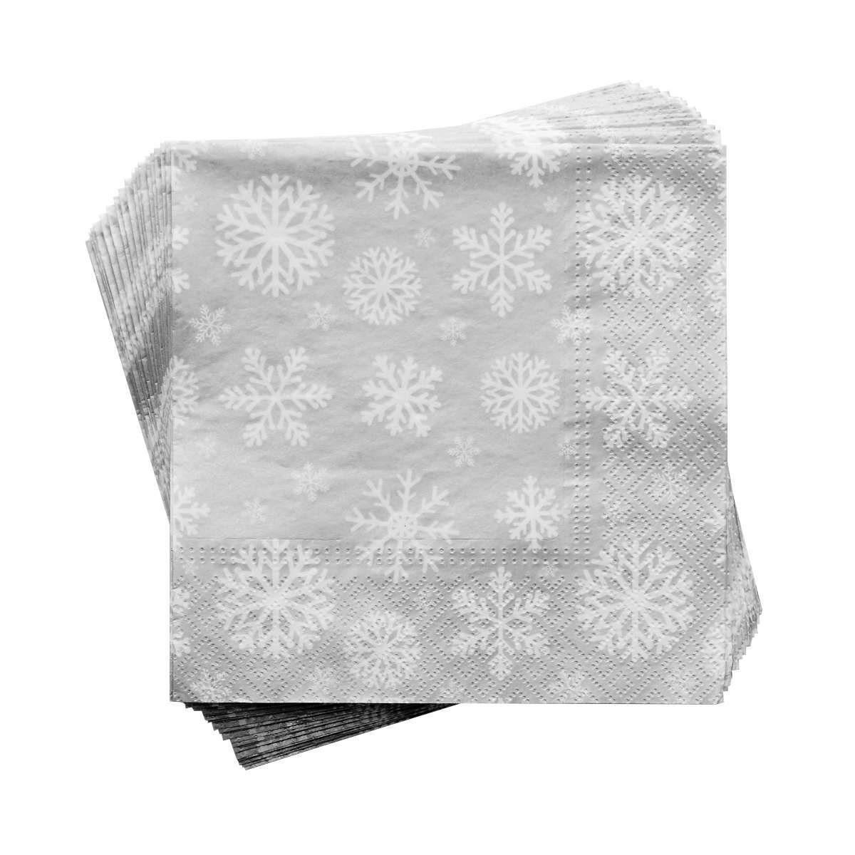 BUTLERS APRÈS »Papierserviette Schneeflocke«