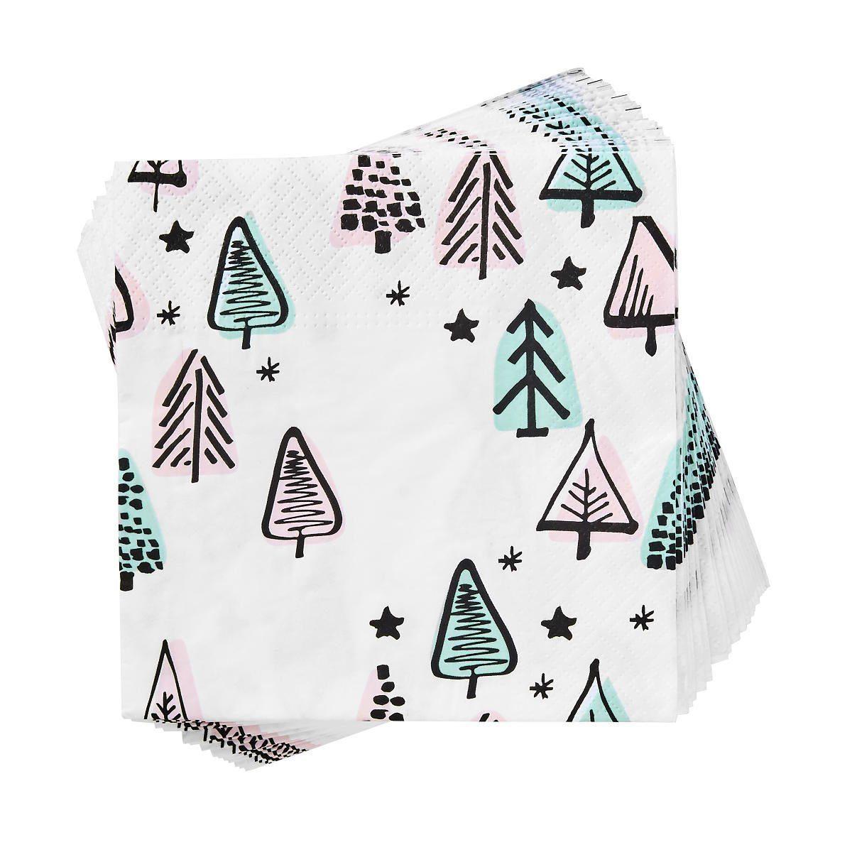 BUTLERS APRÈS »Papierserviette Bäume«