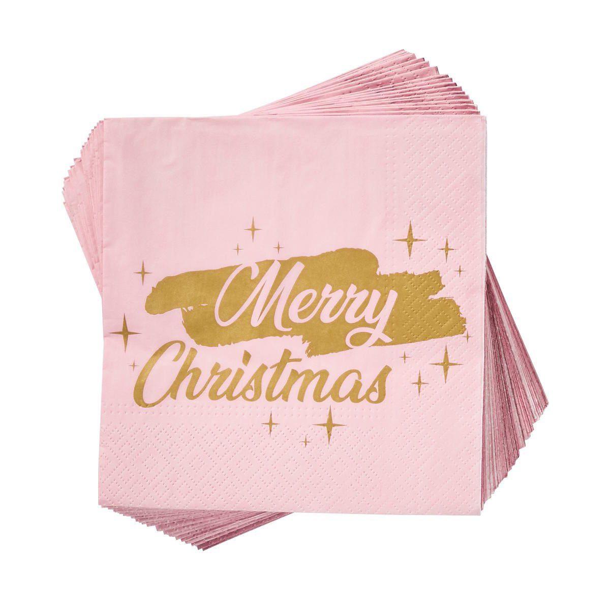 BUTLERS APRÈS »Papierserviette Merry Christmas«