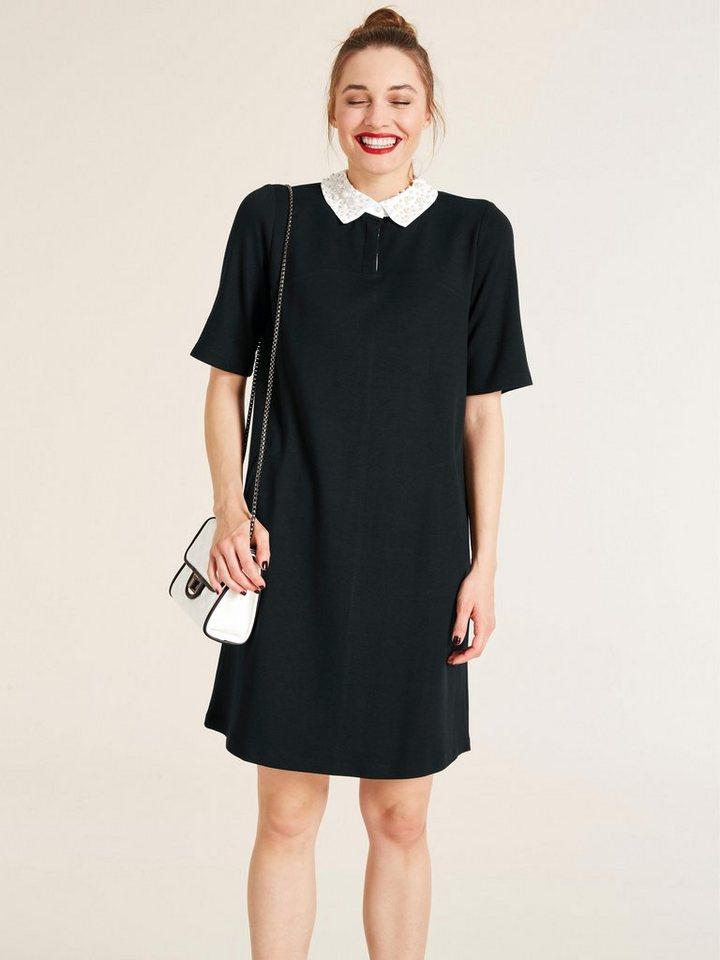 7beaa5fbf0535f heine STYLE Kleid mit Schmuckperlen online kaufen | OTTO